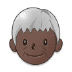 🧓🏿 Dark Skin Tone Older Person Emoji on Samsung Platform