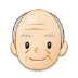 👴🏻 Light Skin Tone Old Man Emoji on Samsung Platform