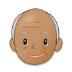 👴🏽 old man: medium skin tone Emoji on Samsung Platform