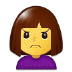🙍 person frowning Emoji on Samsung Platform
