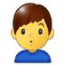 🙎♂️ man pouting Emoji on Samsung Platform