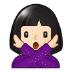 🙅🏻 person gesturing NO: light skin tone Emoji on Samsung Platform
