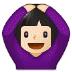 🙆🏻 person gesturing OK: light skin tone Emoji on Samsung Platform