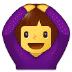 🙆♀️ woman gesturing OK Emoji on Samsung Platform