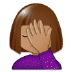 🤦🏽‍♀️ Medium Skin Tone Woman Facepalming Emoji on Samsung Platform