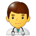 👨‍⚕️ man health worker Emoji on Samsung Platform