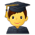 👨‍🎓 Male Student Emoji on Samsung Platform
