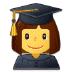 👩🎓 woman student Emoji on Samsung Platform