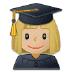 👩🏼‍🎓 woman student: medium-light skin tone Emoji on Samsung Platform