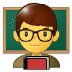 👨‍🏫 man teacher Emoji on Samsung Platform