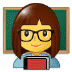 👩‍🏫 woman teacher Emoji on Samsung Platform