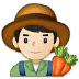 👨🏻🌾 man farmer: light skin tone Emoji on Samsung Platform