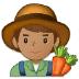 👨🏽🌾 man farmer: medium skin tone Emoji on Samsung Platform