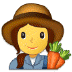 👩‍🌾 woman farmer Emoji on Samsung Platform