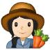 👩🏻🌾 woman farmer: light skin tone Emoji on Samsung Platform