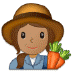 👩🏽‍🌾 woman farmer: medium skin tone Emoji on Samsung Platform