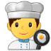 👨🍳 man cook Emoji on Samsung Platform