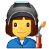 👩‍🏭 woman factory worker Emoji on Samsung Platform