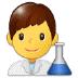 👨🔬 man scientist Emoji on Samsung Platform