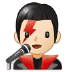👨🏻🎤 man singer: light skin tone Emoji on Samsung Platform