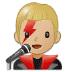 👨🏼🎤 man singer: medium-light skin tone Emoji on Samsung Platform
