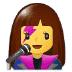 👩🎤 woman singer Emoji on Samsung Platform