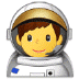 👨🚀 man astronaut Emoji on Samsung Platform