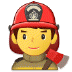 👨‍🚒 man firefighter Emoji on Samsung Platform