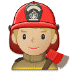👨🏼‍🚒 man firefighter: medium-light skin tone Emoji on Samsung Platform