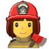 👩🚒 woman firefighter Emoji on Samsung Platform