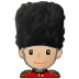 💂🏼 guard: medium-light skin tone Emoji on Samsung Platform