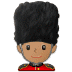 💂🏽 Medium Skin Tone Guard Emoji on Samsung Platform