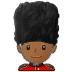 💂🏾 guard: medium-dark skin tone Emoji on Samsung Platform