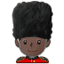 💂🏿 guard: dark skin tone Emoji on Samsung Platform