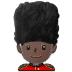 💂🏿 Dark Skin Tone Guard Emoji on Samsung Platform