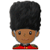 💂🏾‍♂️ man guard: medium-dark skin tone Emoji on Samsung Platform