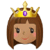 👸🏽 princess: medium skin tone Emoji on Samsung Platform