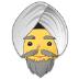 👳♂️ man wearing turban Emoji on Samsung Platform
