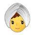 👳‍♀️ woman wearing turban Emoji on Samsung Platform