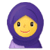 🧕 woman with headscarf Emoji on Samsung Platform