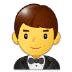 🤵 man in tuxedo Emoji on Samsung Platform