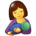 🤱 Mujer lactancia Emoji en la plataforma Samsung