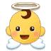 👼 baby angel Emoji on Samsung Platform