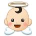 👼🏻 baby angel: light skin tone Emoji on Samsung Platform