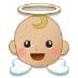 👼🏼 baby angel: medium-light skin tone Emoji on Samsung Platform