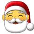 🎅 Santa Claus Emoji on Samsung Platform
