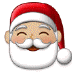 🎅🏼 Santa Claus: medium-light skin tone Emoji on Samsung Platform