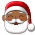 🎅🏾 Santa Claus: medium-dark skin tone Emoji on Samsung Platform