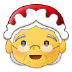 🤶 Mrs. Claus Emoji on Samsung Platform
