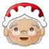 🤶🏼 Mrs. Claus: medium-light skin tone Emoji on Samsung Platform